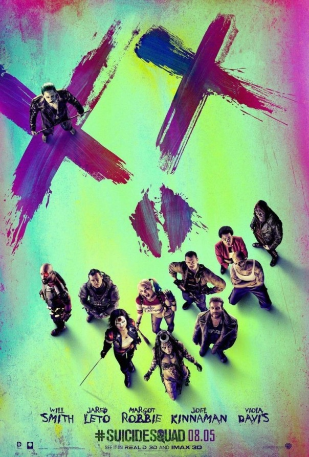 Suicide Squad poster new
